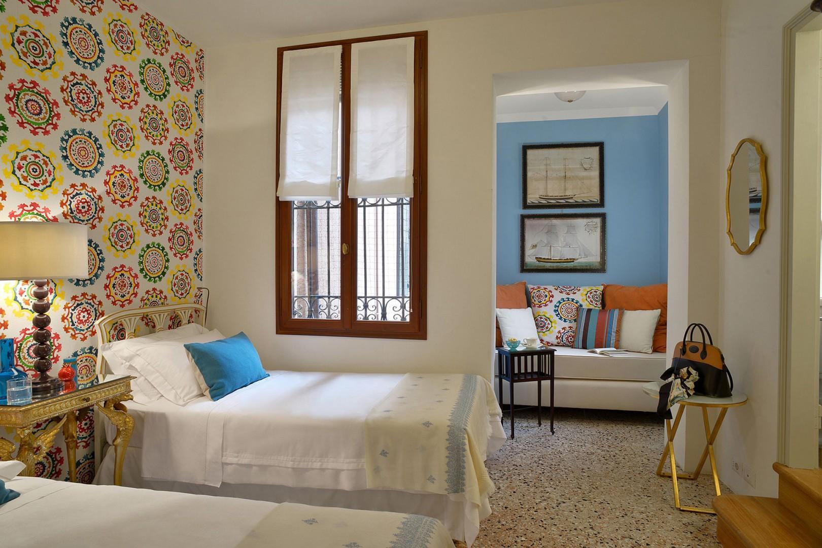 Two beds in happy bedroom 2.