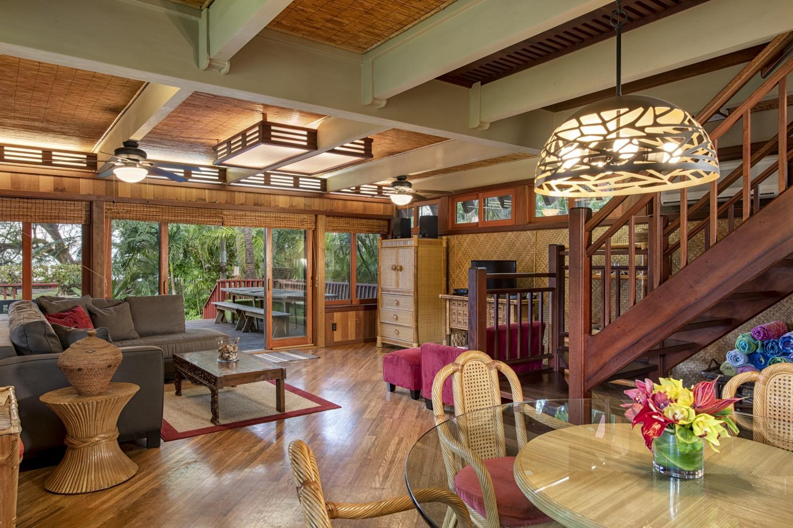 7. Spacious Living Room
