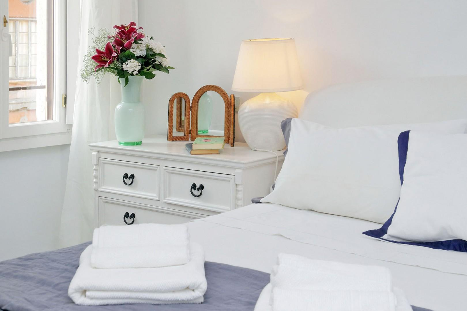 All 3 bedrooms have quality linens.