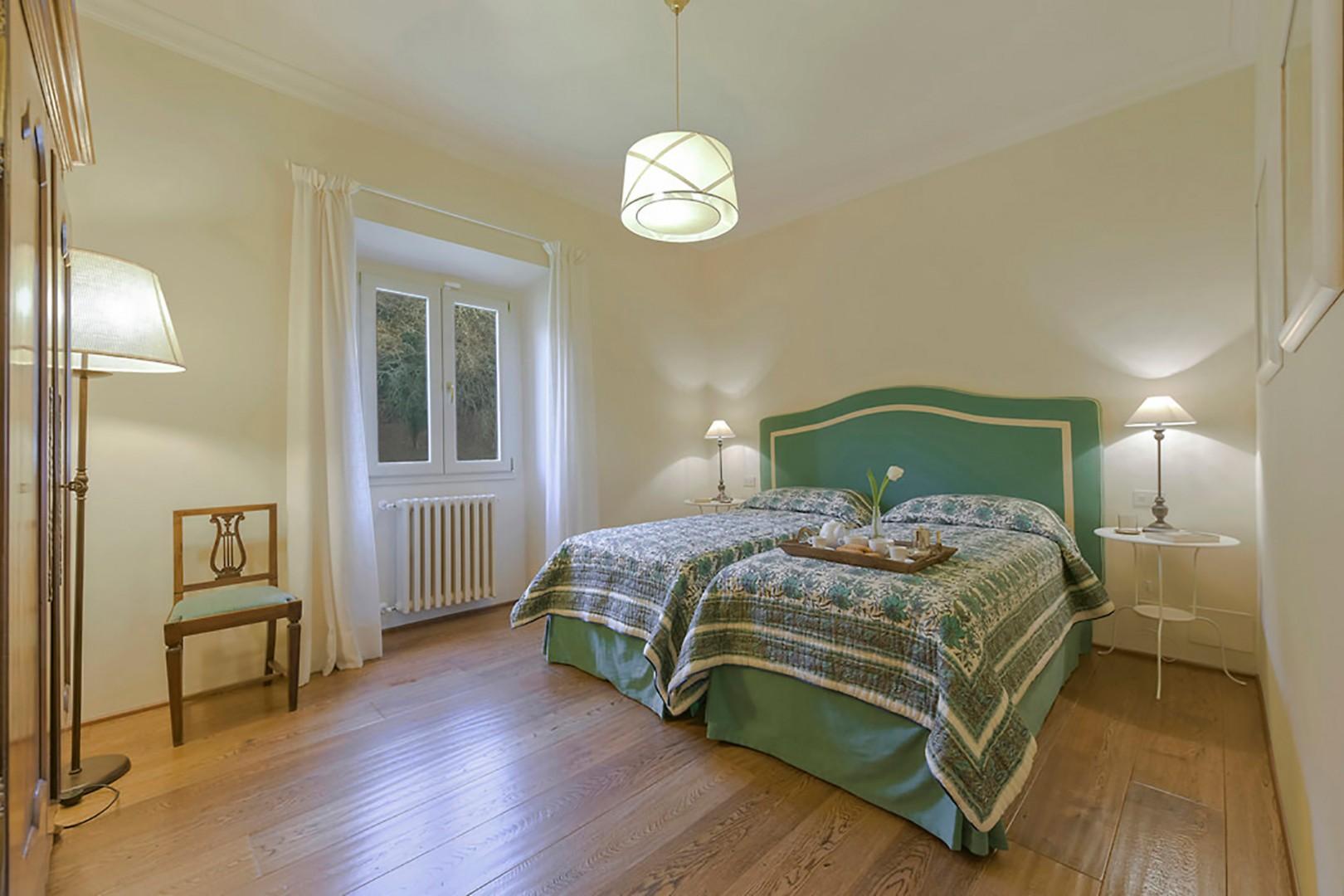 Bedroom 4 with en suite bathroom.