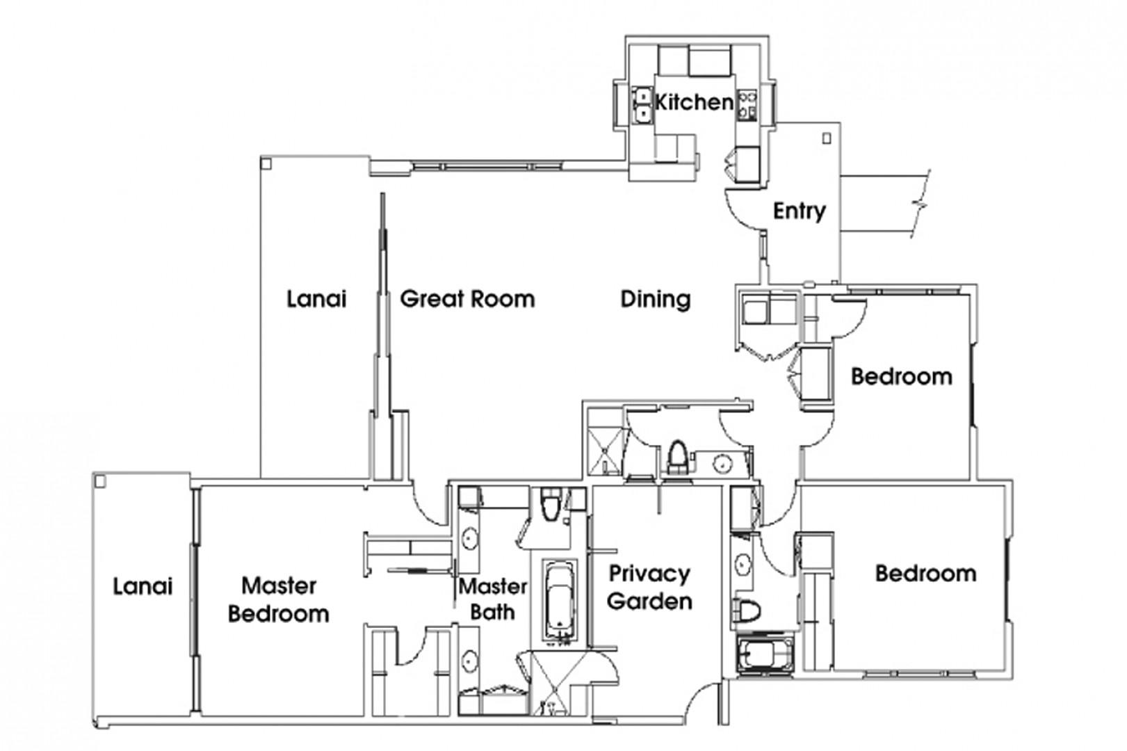 Floor plan for 2907C