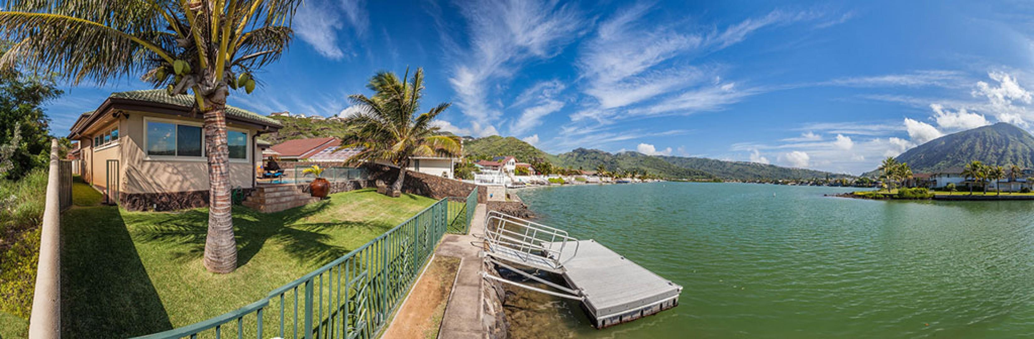 BEAUTIFUL marina-front view!