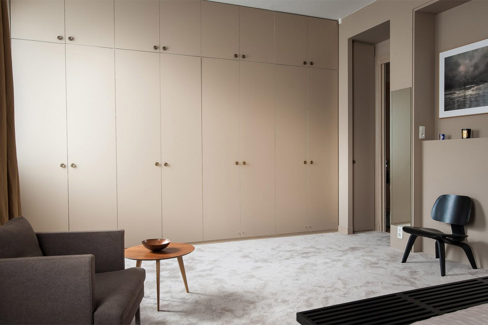 There are ample built-in closets in bedroom 1.