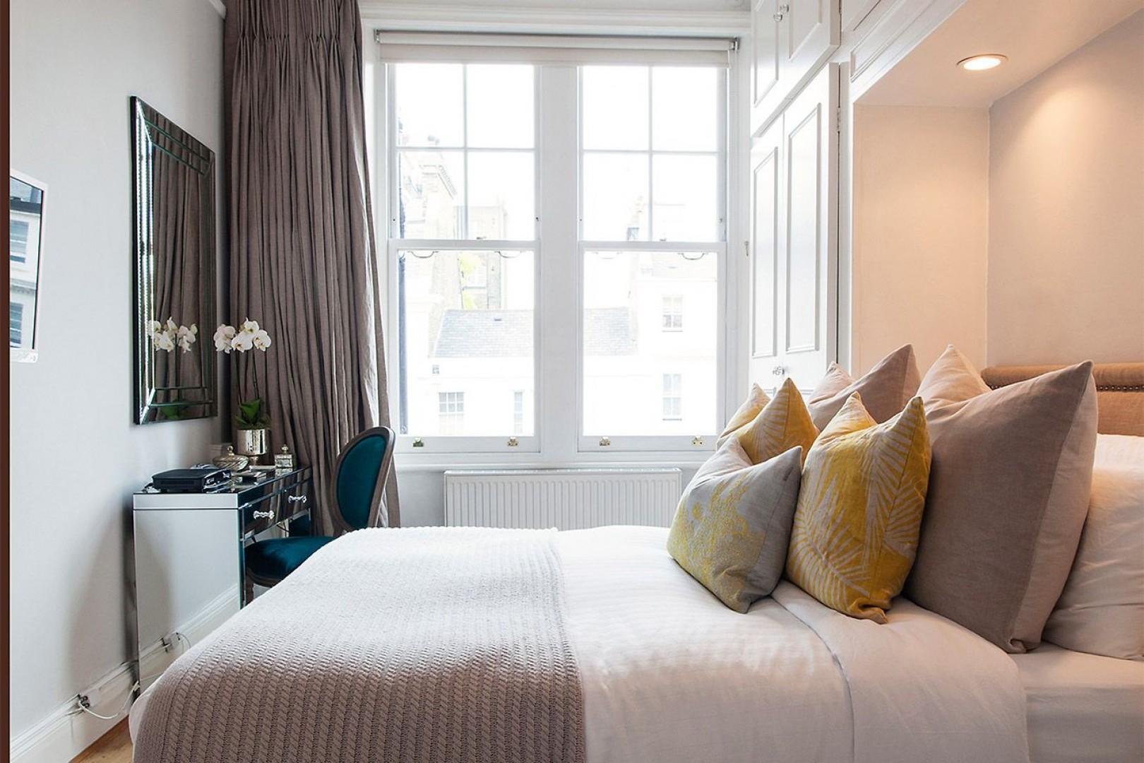 Light filled bedroom 1