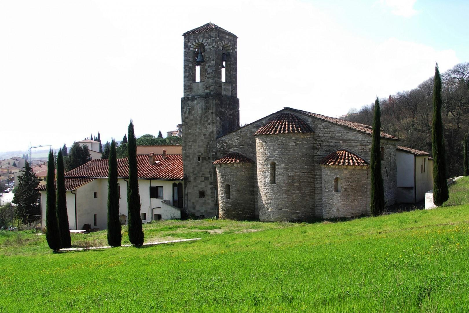 The ancient church of San Leolino in Rignano sull'Arno dates back to 1066.