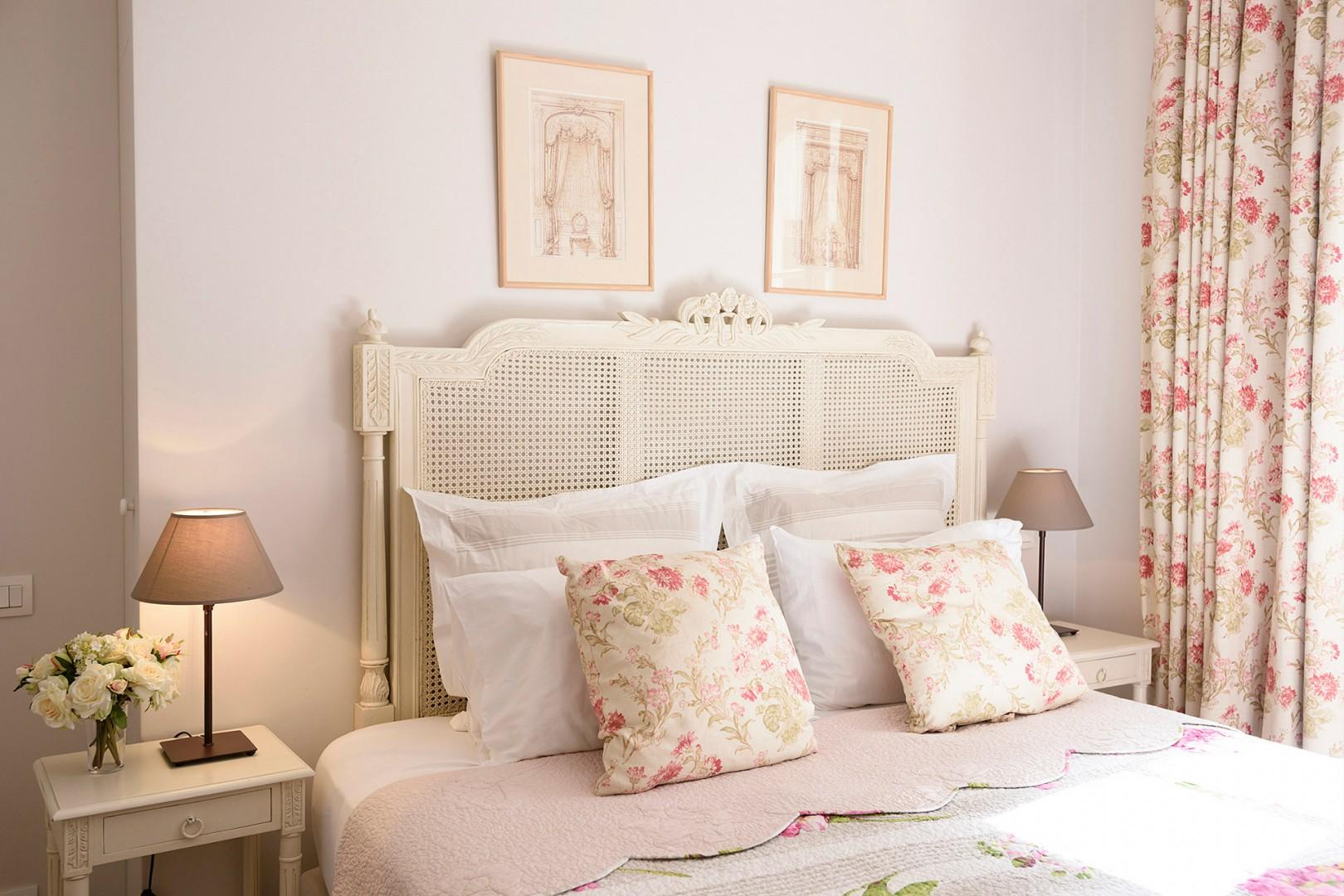 You will love the luxurious bedding and lovely décor.