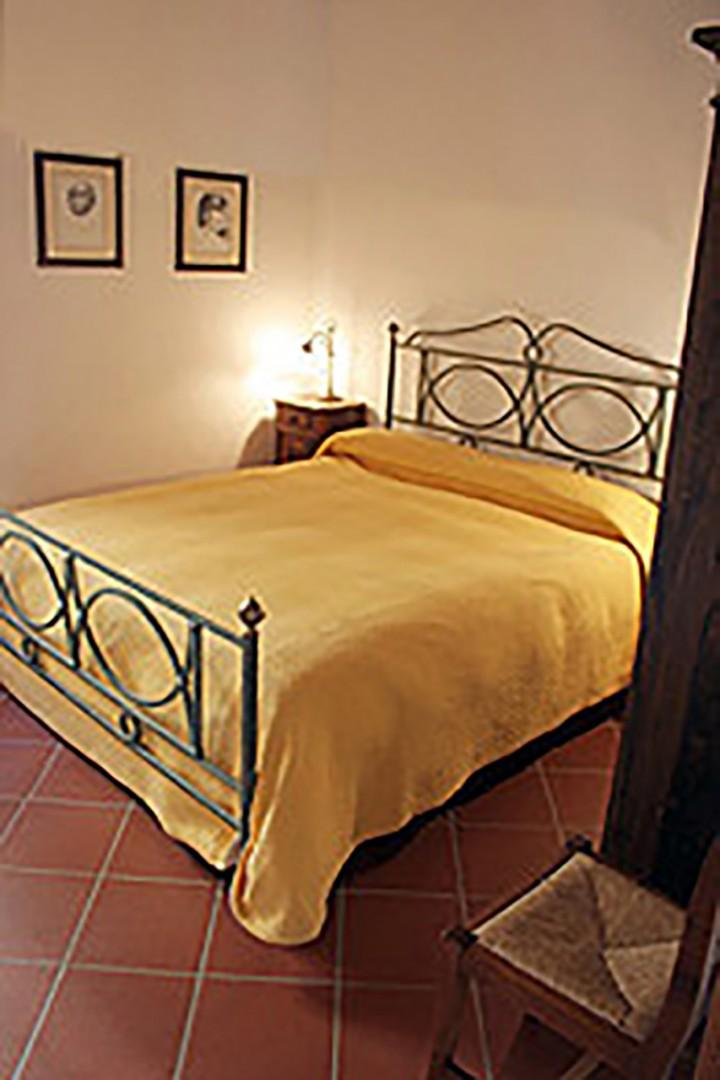 Bedroom 2 with comfortable bed.