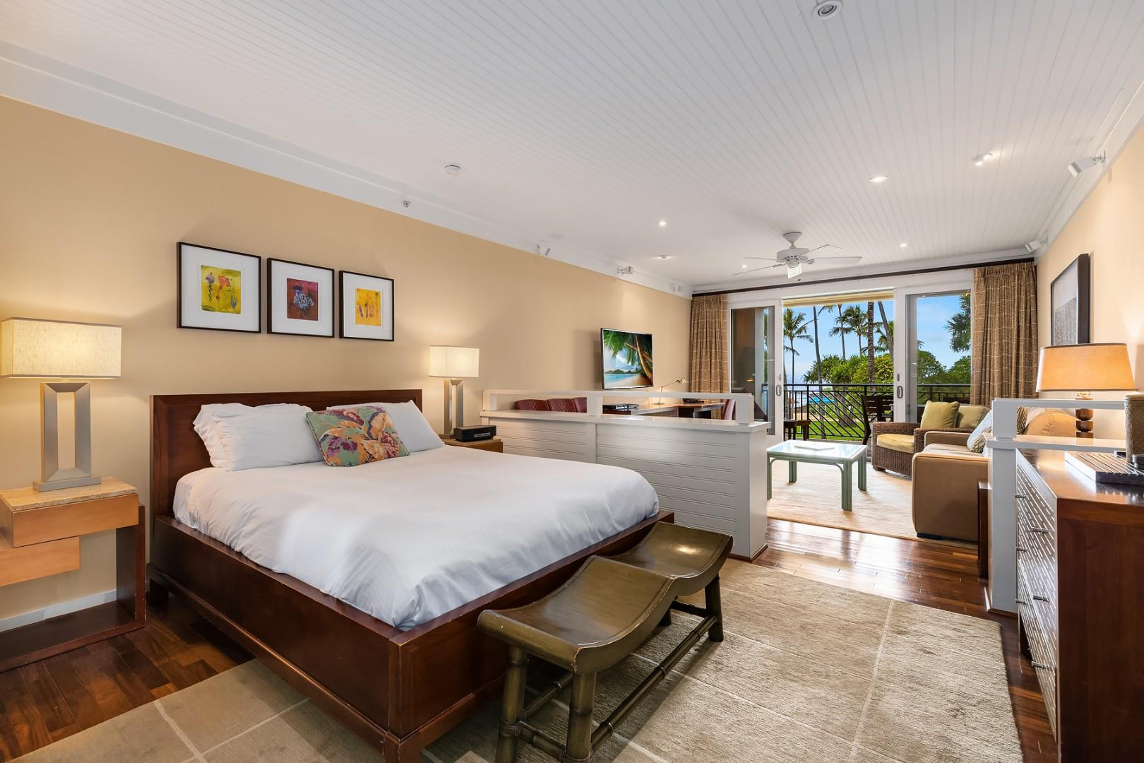 Villa 205: Sleeping area