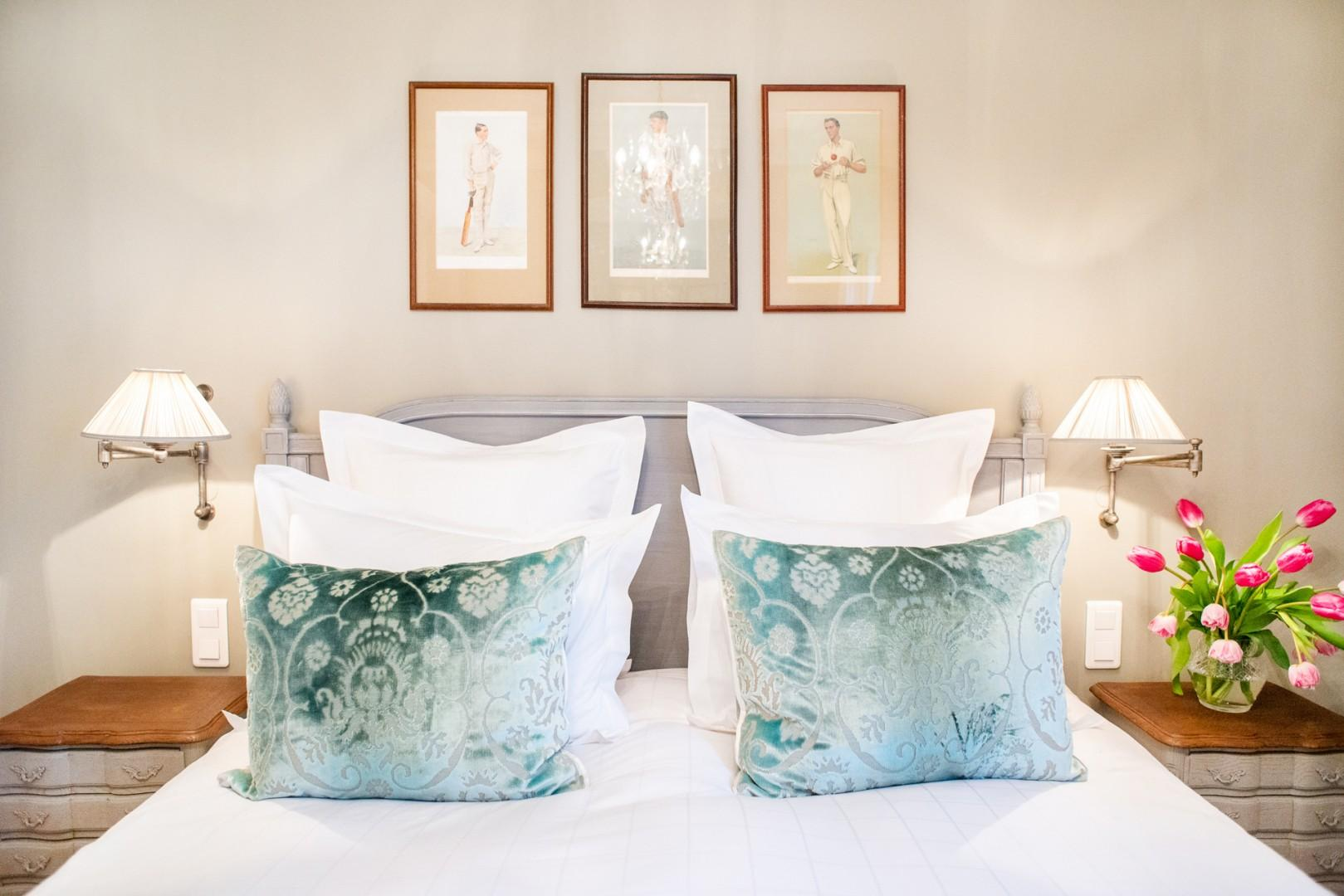 Indulge in our signature luxurious bedding.