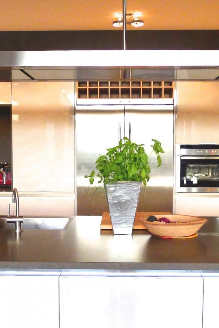 Enjoy quiet mornings in the fully equipped kitchen area