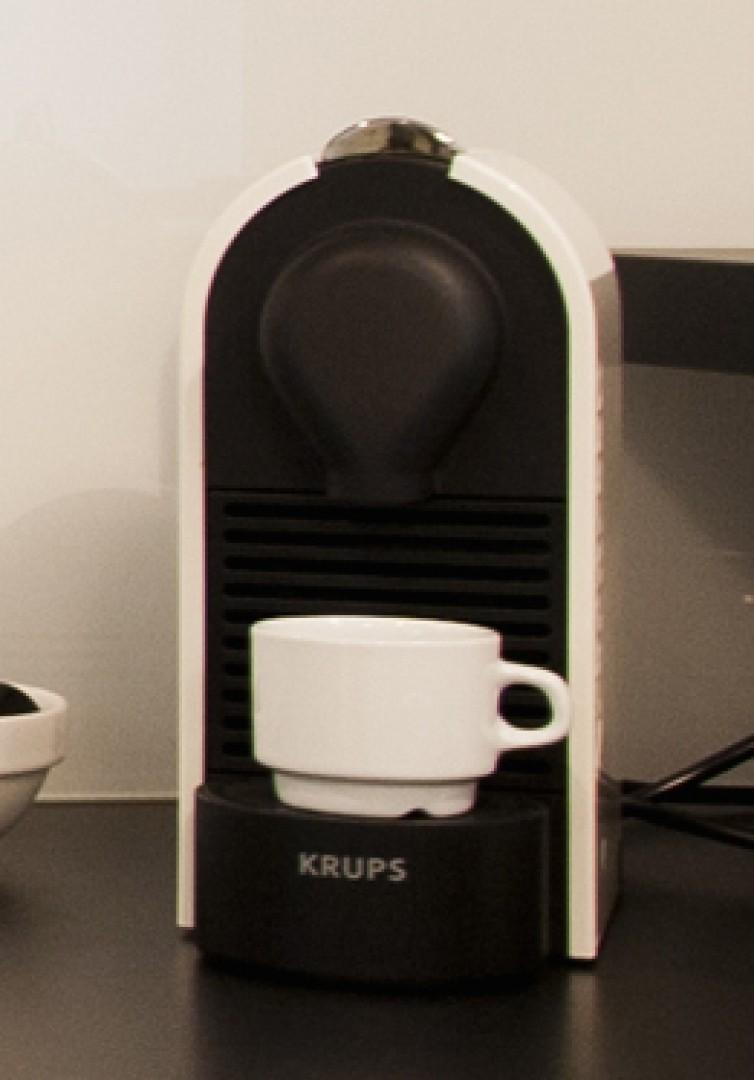 You'll love having your own Nespresso coffee machine!
