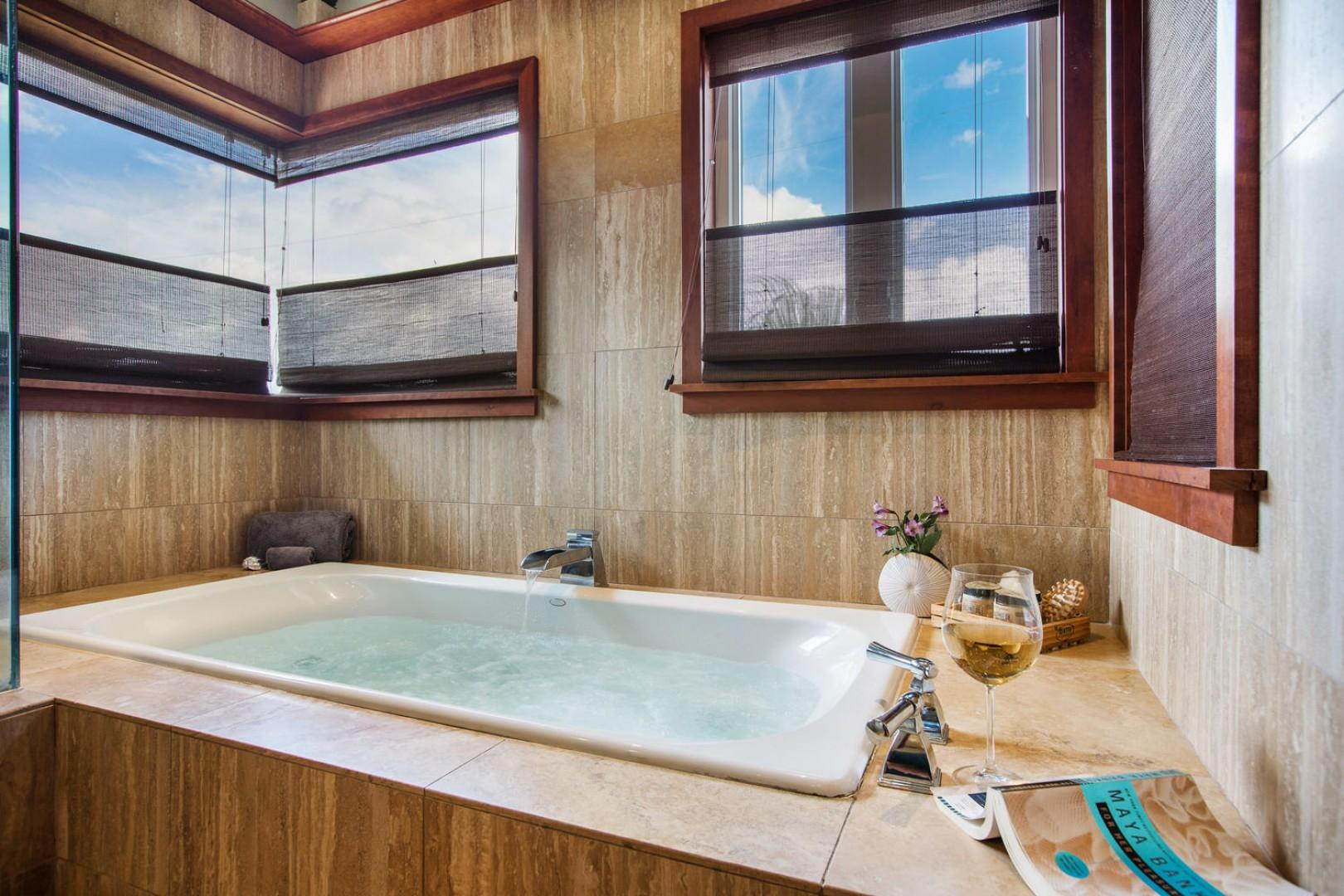 Grab a glass of wine and soak up all the aloha Kahala Alii has to offer.