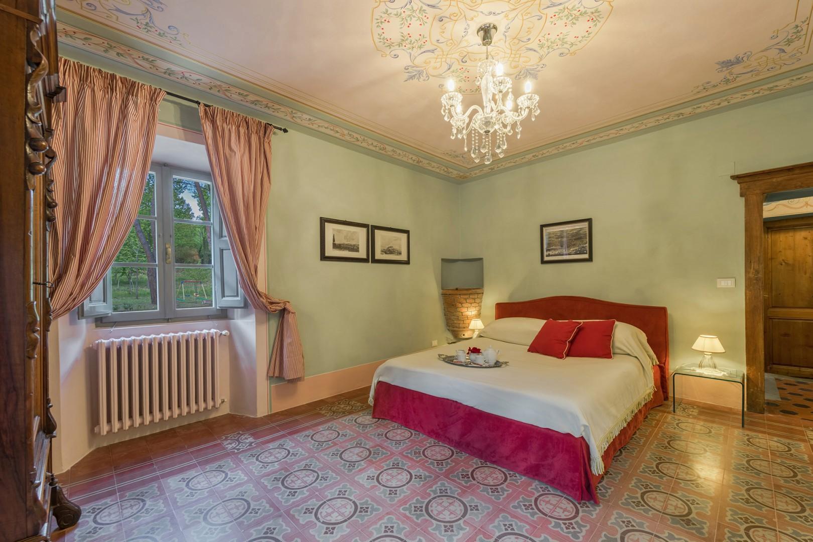Bedroom 6 has an en suite bathroom and private balcony.