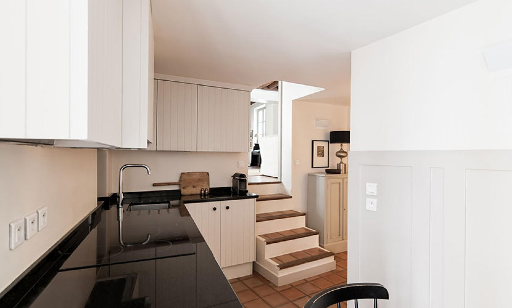 Cook at home in this beautifully designed, modern kitchen.