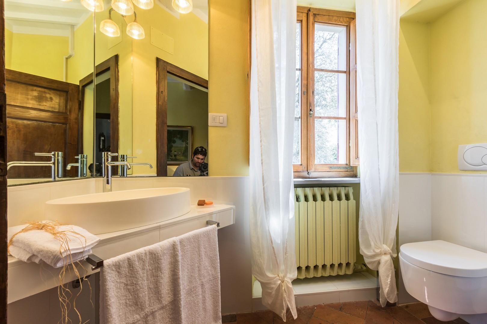 En suite bathroom to bedroom 4.