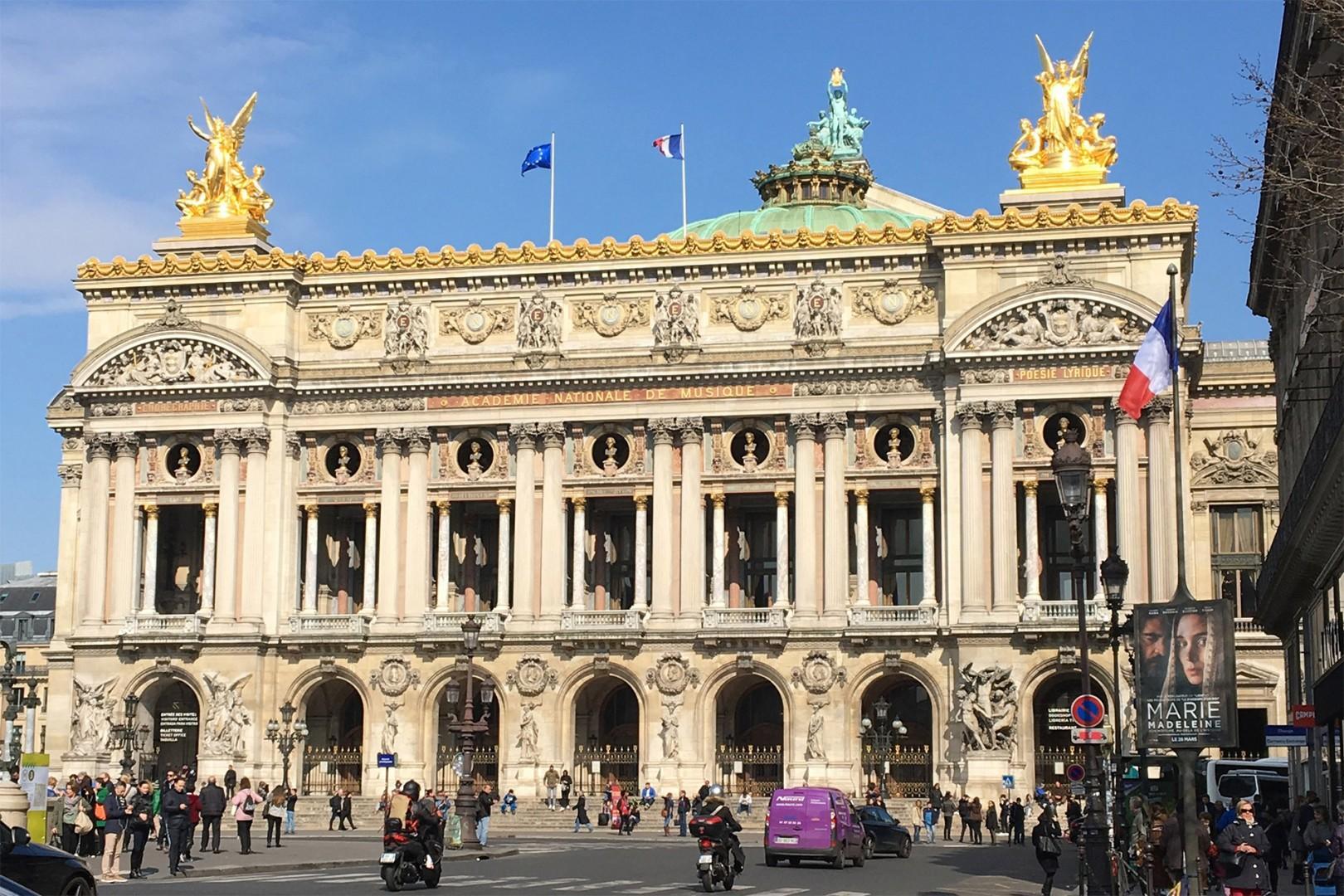 Take a short stroll to the beautiful Opera Garnier.