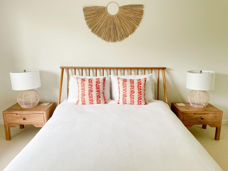 Downstairs guest bedroom