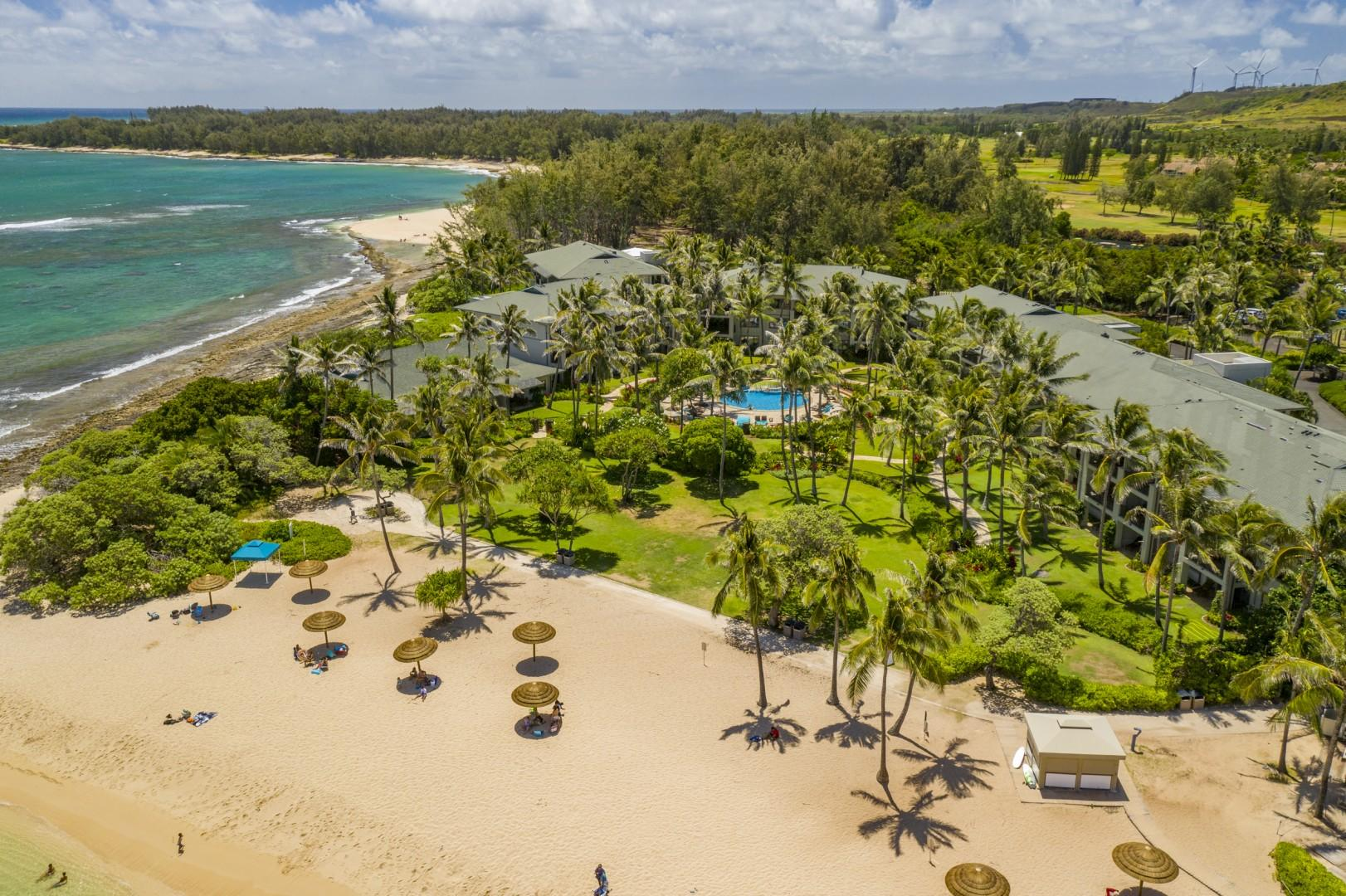 Kuilima Cove & Bay View Beach Lawn