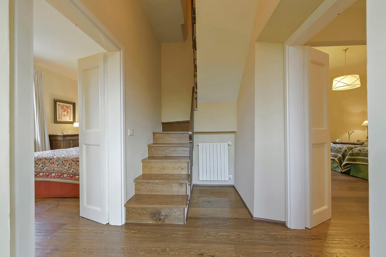 Steps leading to 3rd floor.