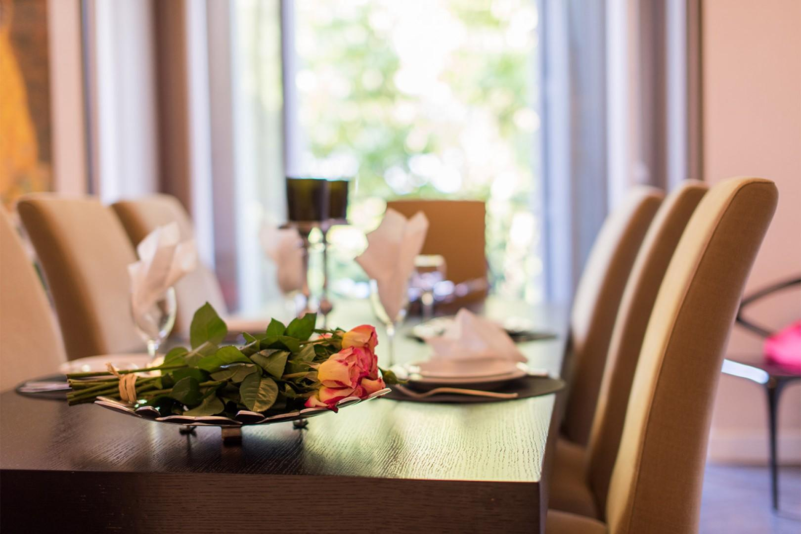 Elegant dinner parties are a must while in Paris!