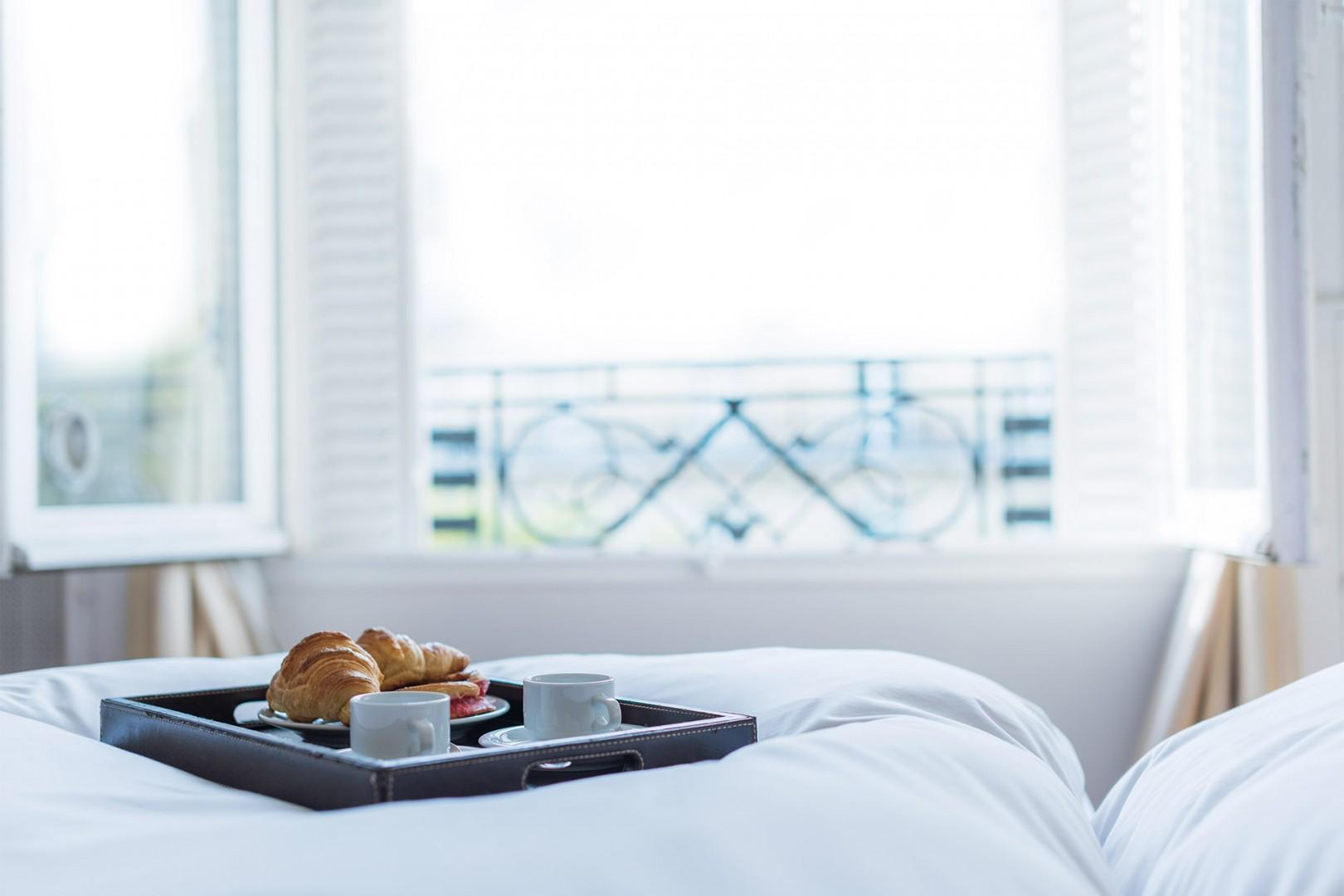 Start your day with a petit-dejeuner in bed!