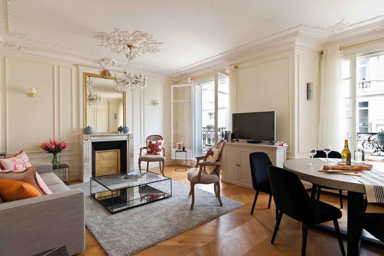 Welcome to our charming Aloxe Paris apartment!