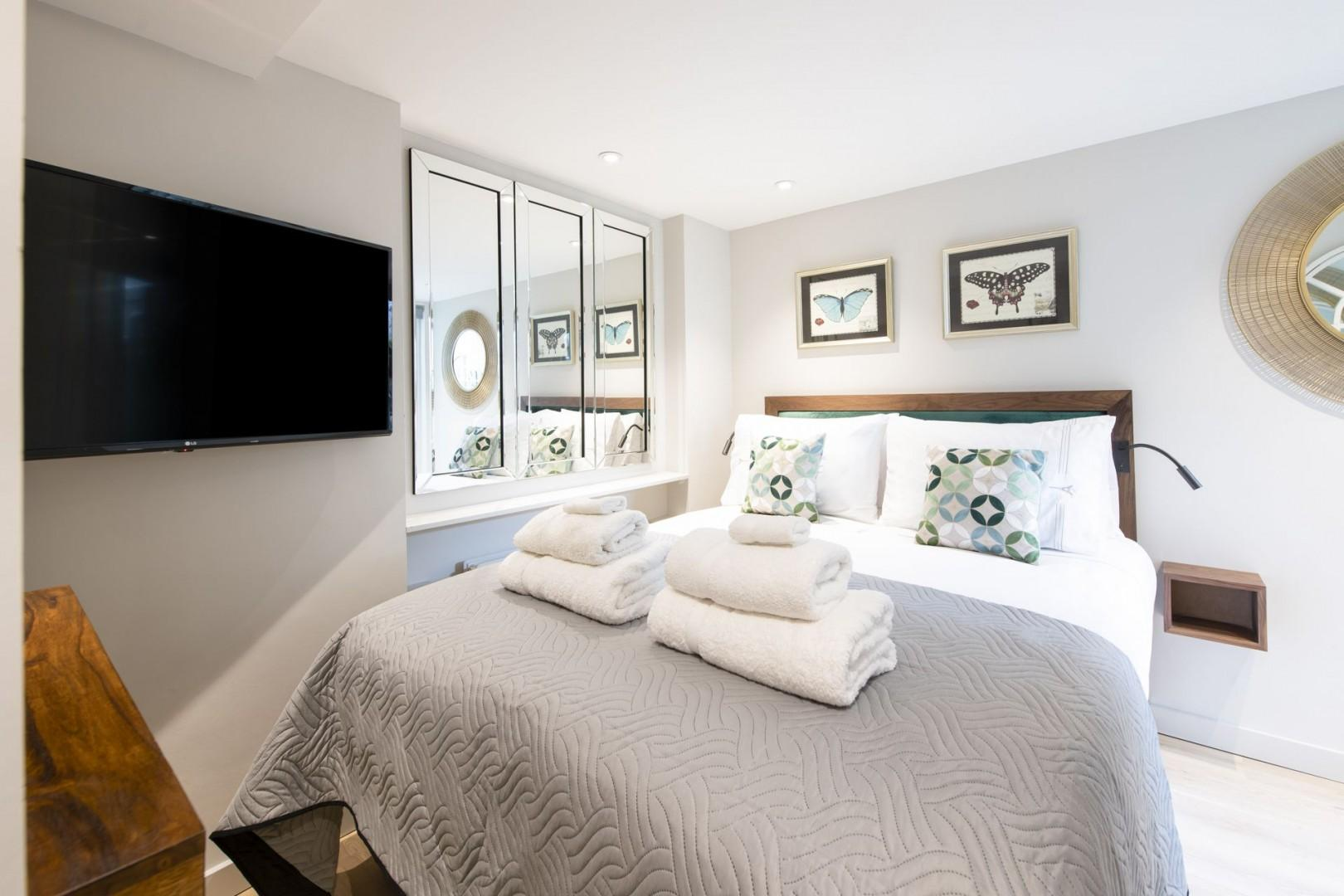 Get your sleep in this gorgeous bedroom