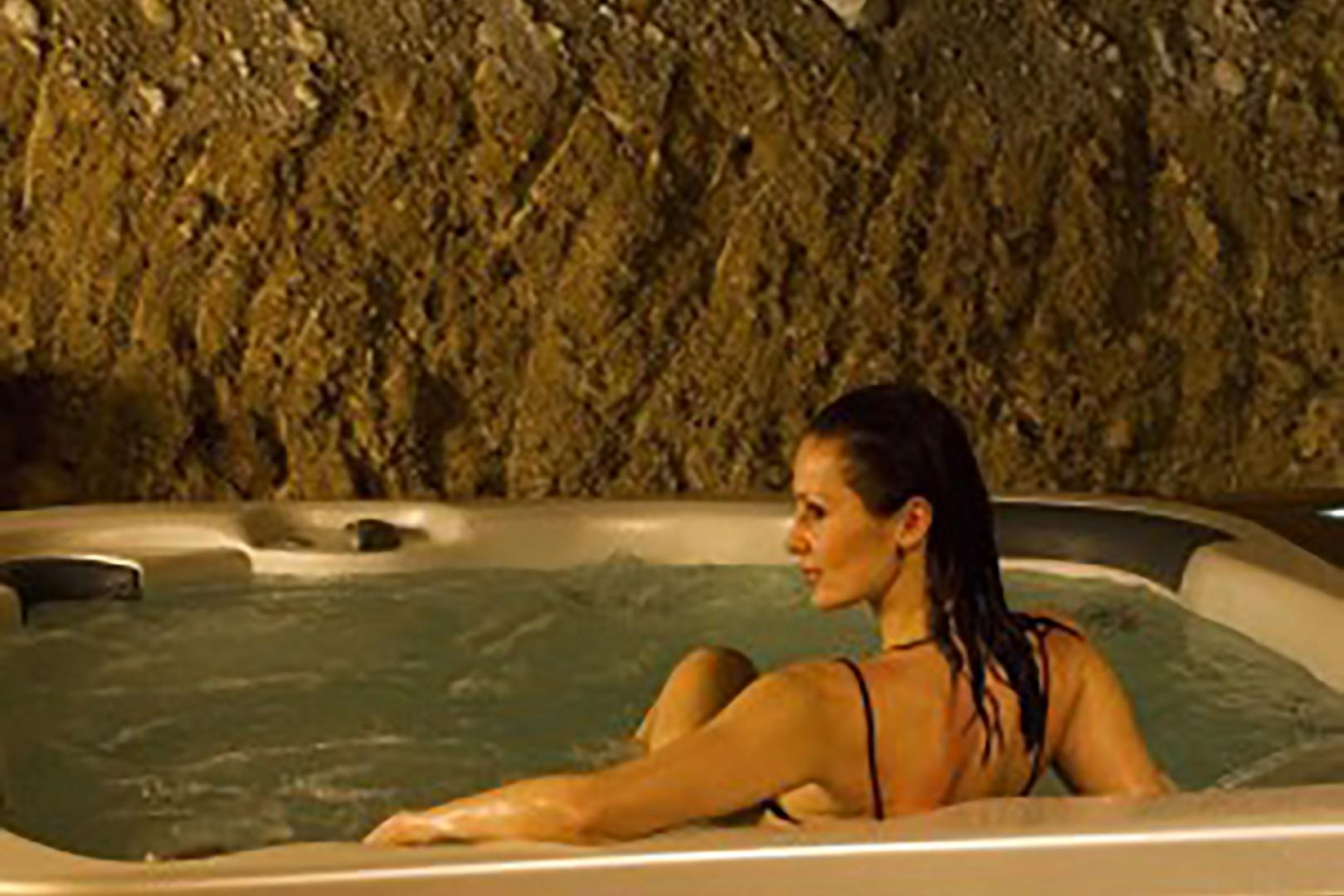 Within the village surrounding the castle is a spa where villa guests are welcome.