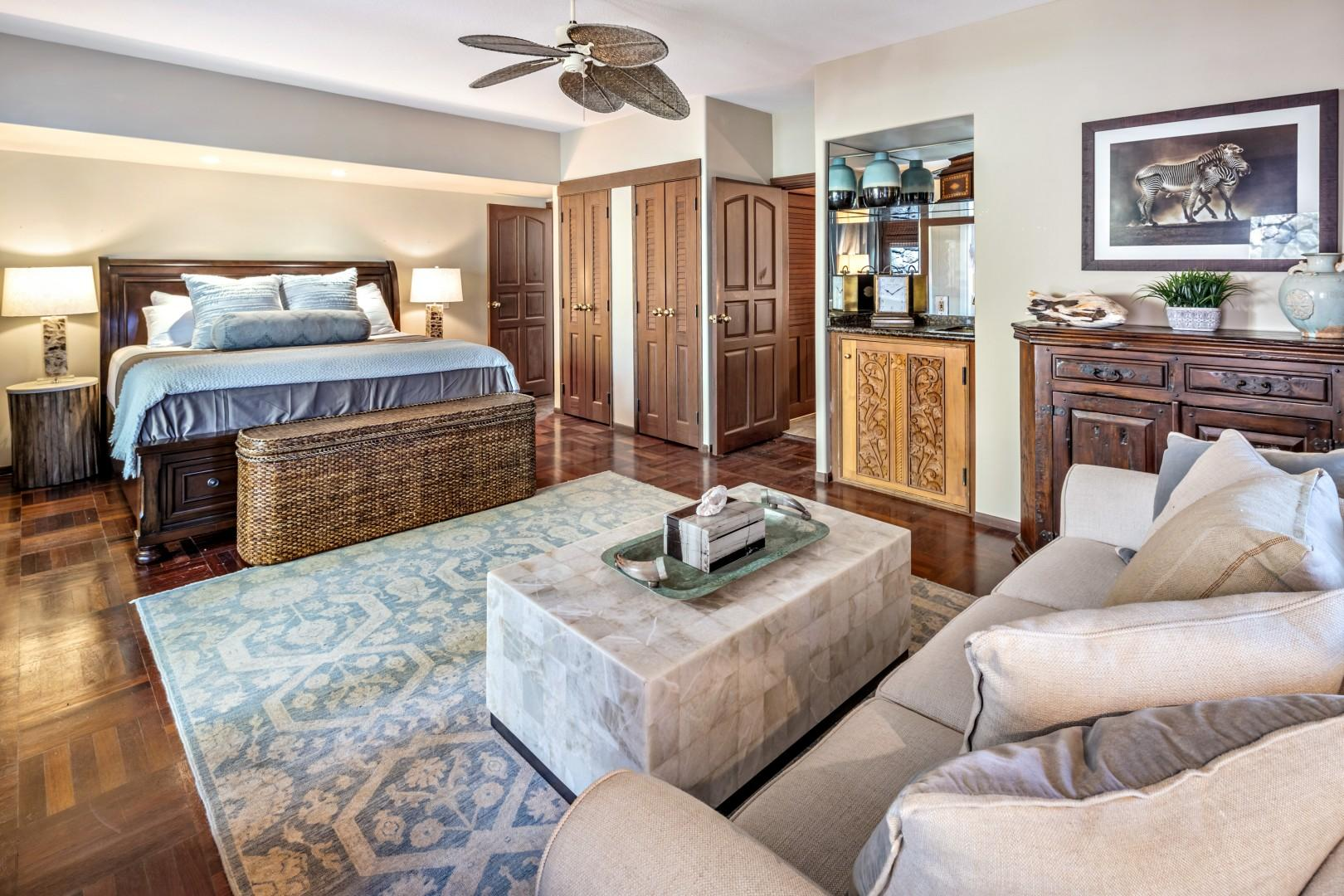 Guest suite with lanai