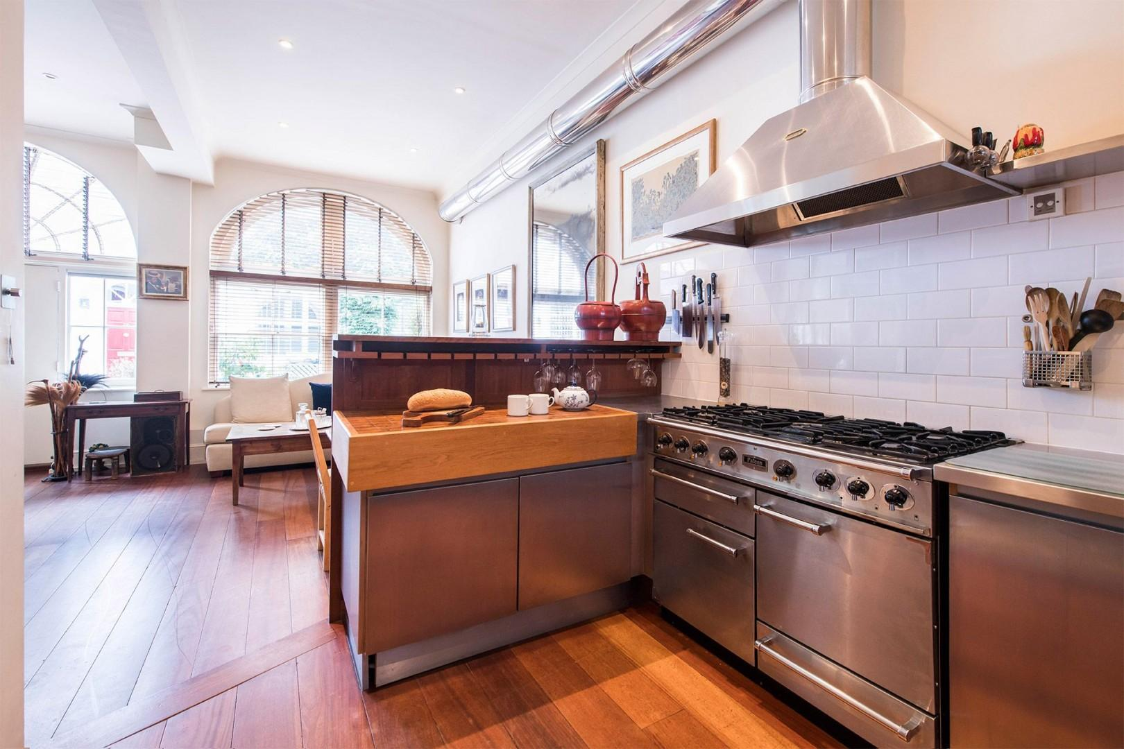 High-end finishes in the kitchen