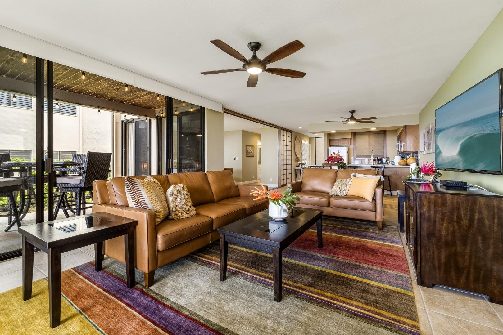 Professionally decorated and equipped with high end touches throughout!