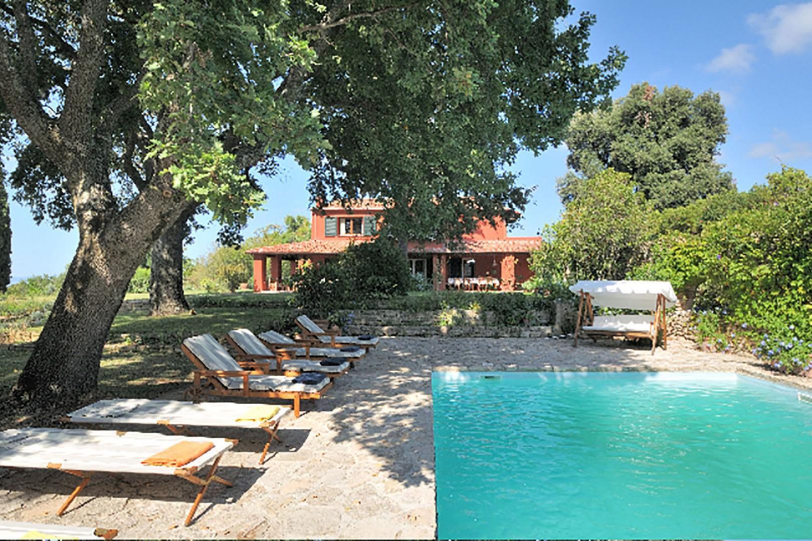 The Colombe villa is in a terrific location for exploring Tuscany's Maremma region near and far.