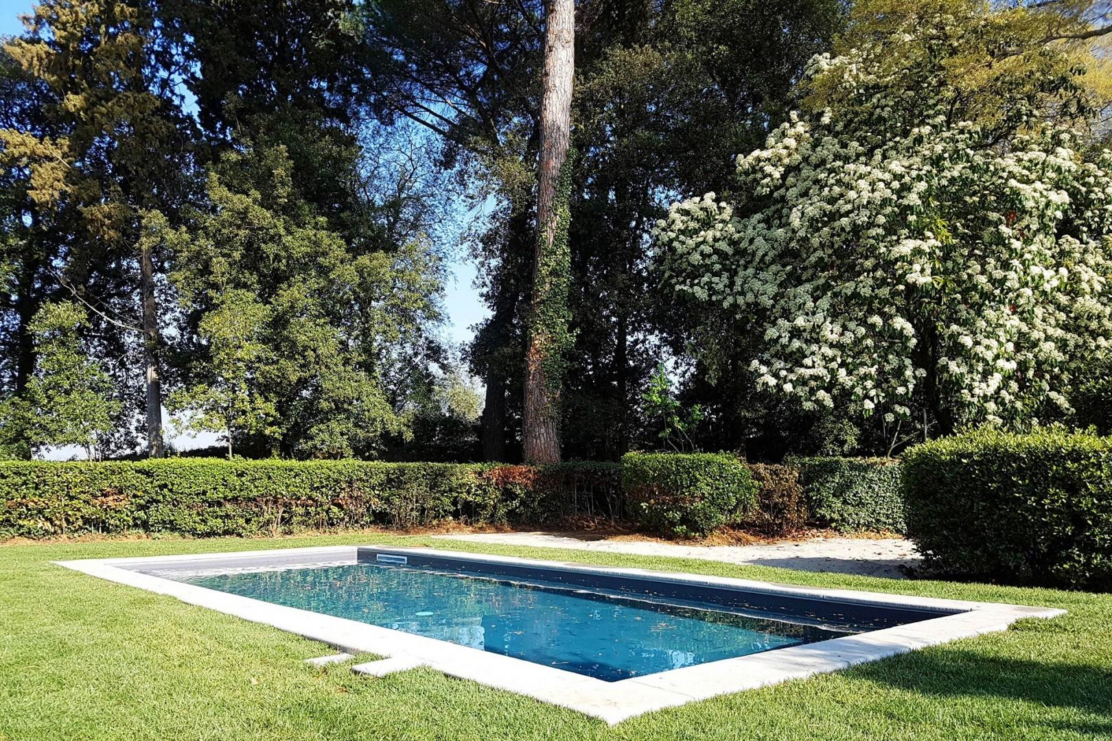 Enjoy relaxing by the pool when you're not out exploring Florence, Fiesole or the rest of Tuscany.
