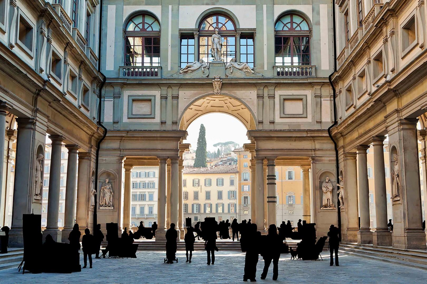 The Uffizi Gallery holds one of the finest and oldest collections of art since the time of Leonardo da Vinci.