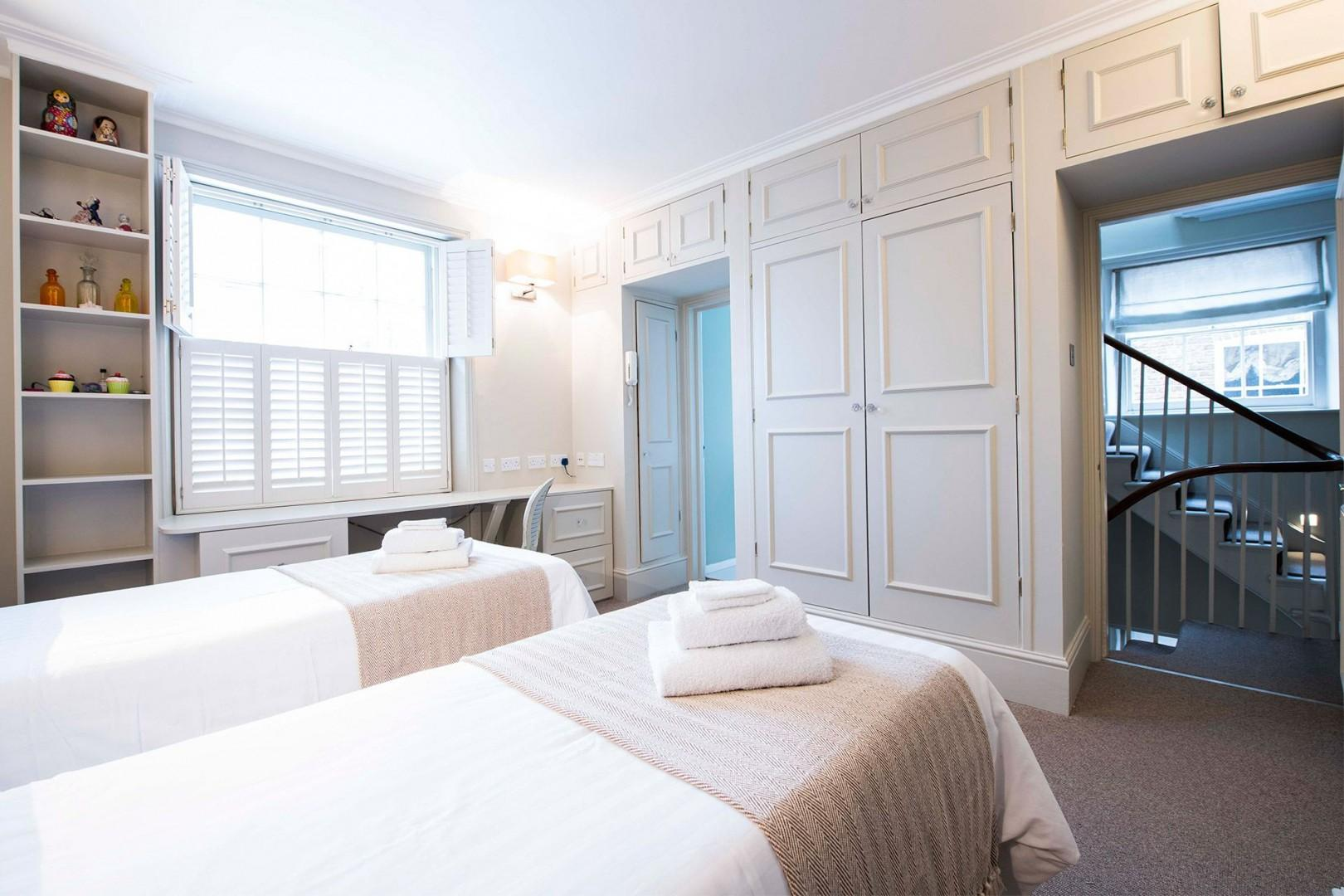 Elegant second bedroom with en suite bathroom