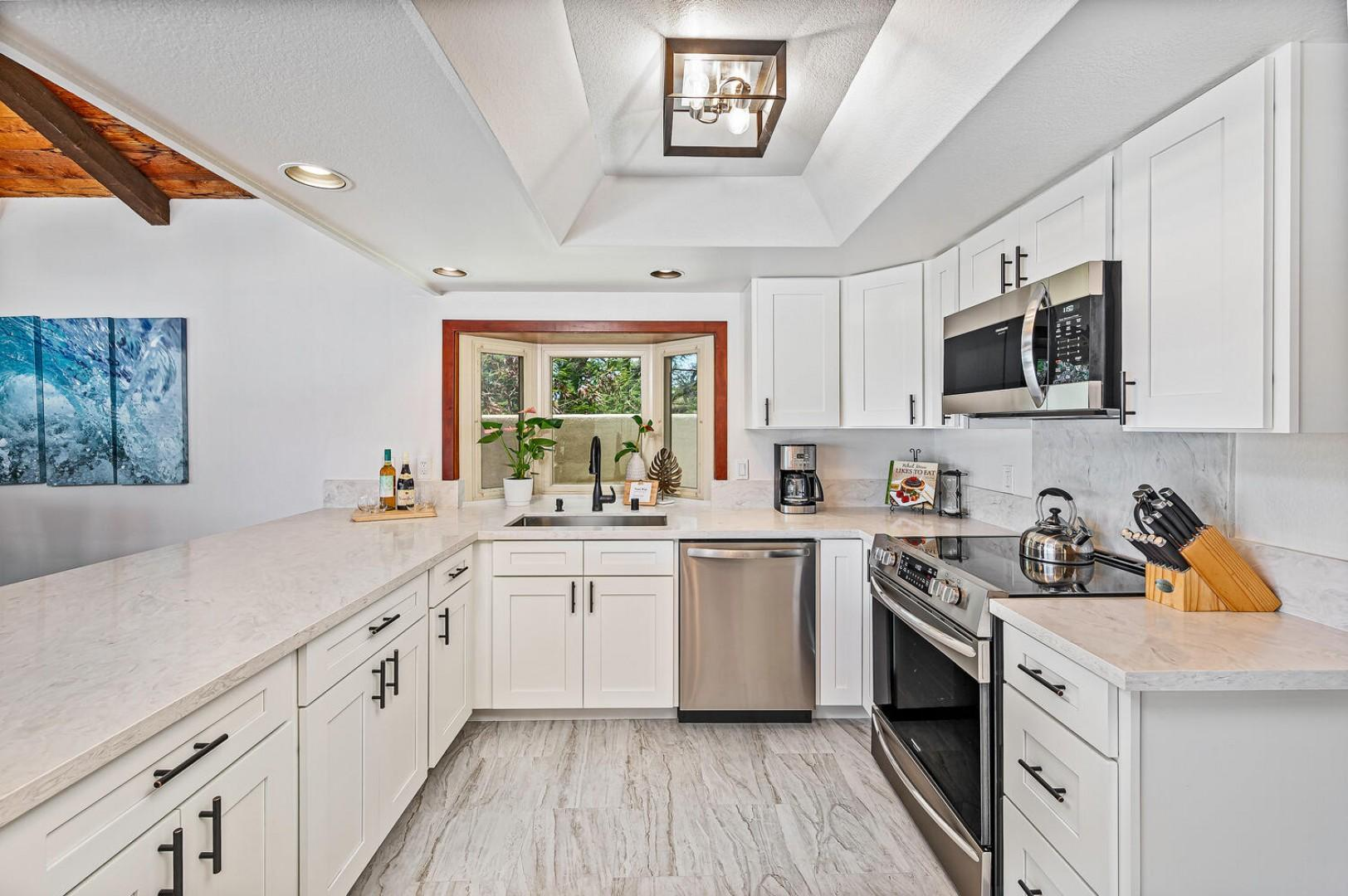 Newly remodeled kitchen!