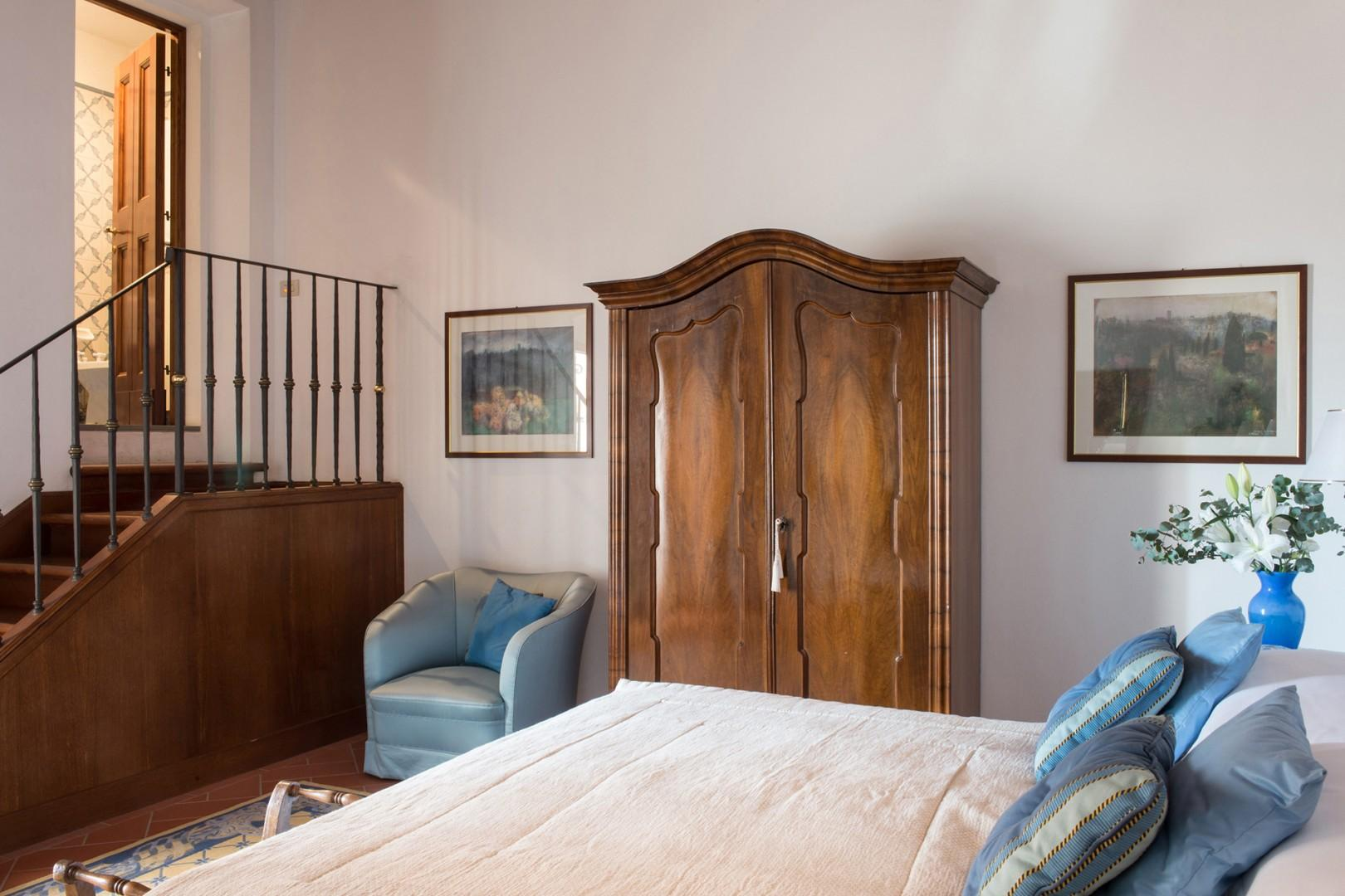 Bedroom 3 with en suite bathroom up the stairs
