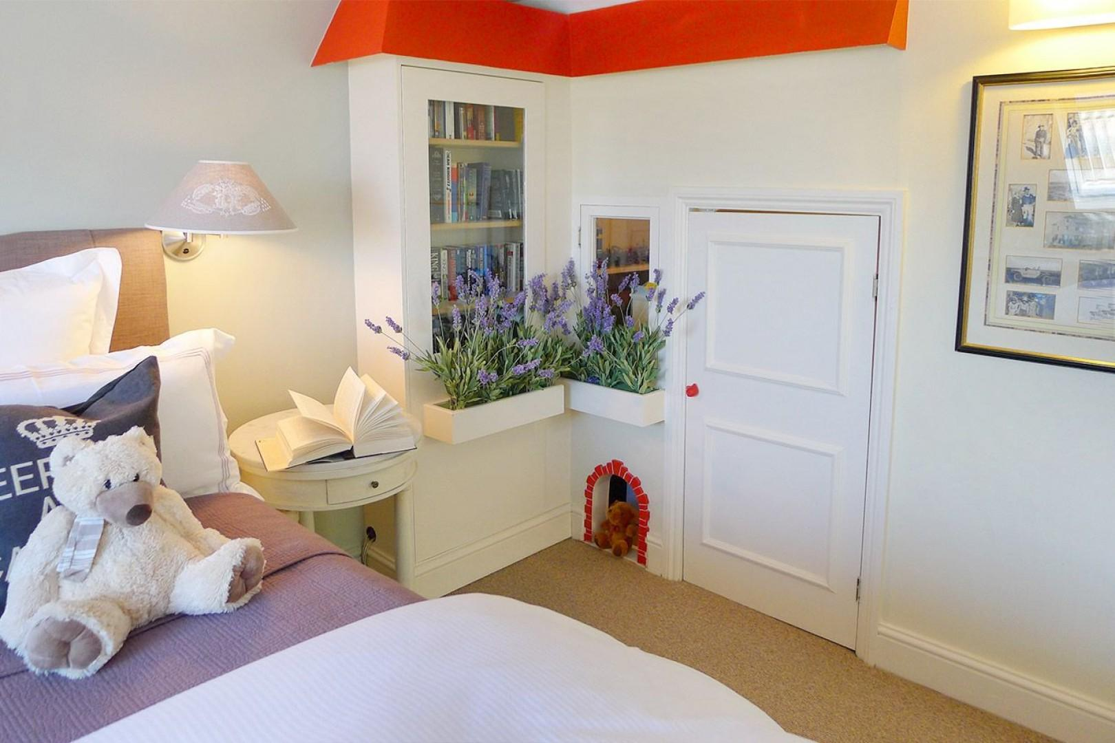 Lovely play area in the third bedroom