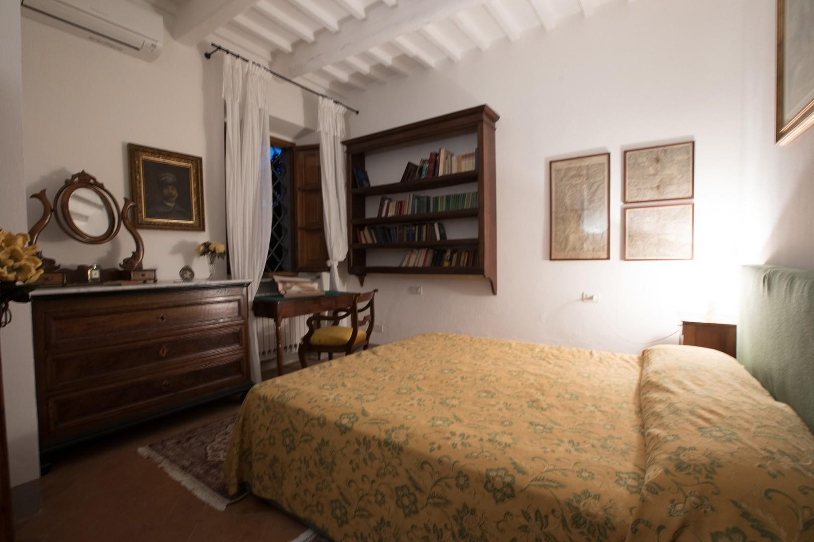 Bedroom 1 is situated on the main floor. It has a writing desk for your convenience.