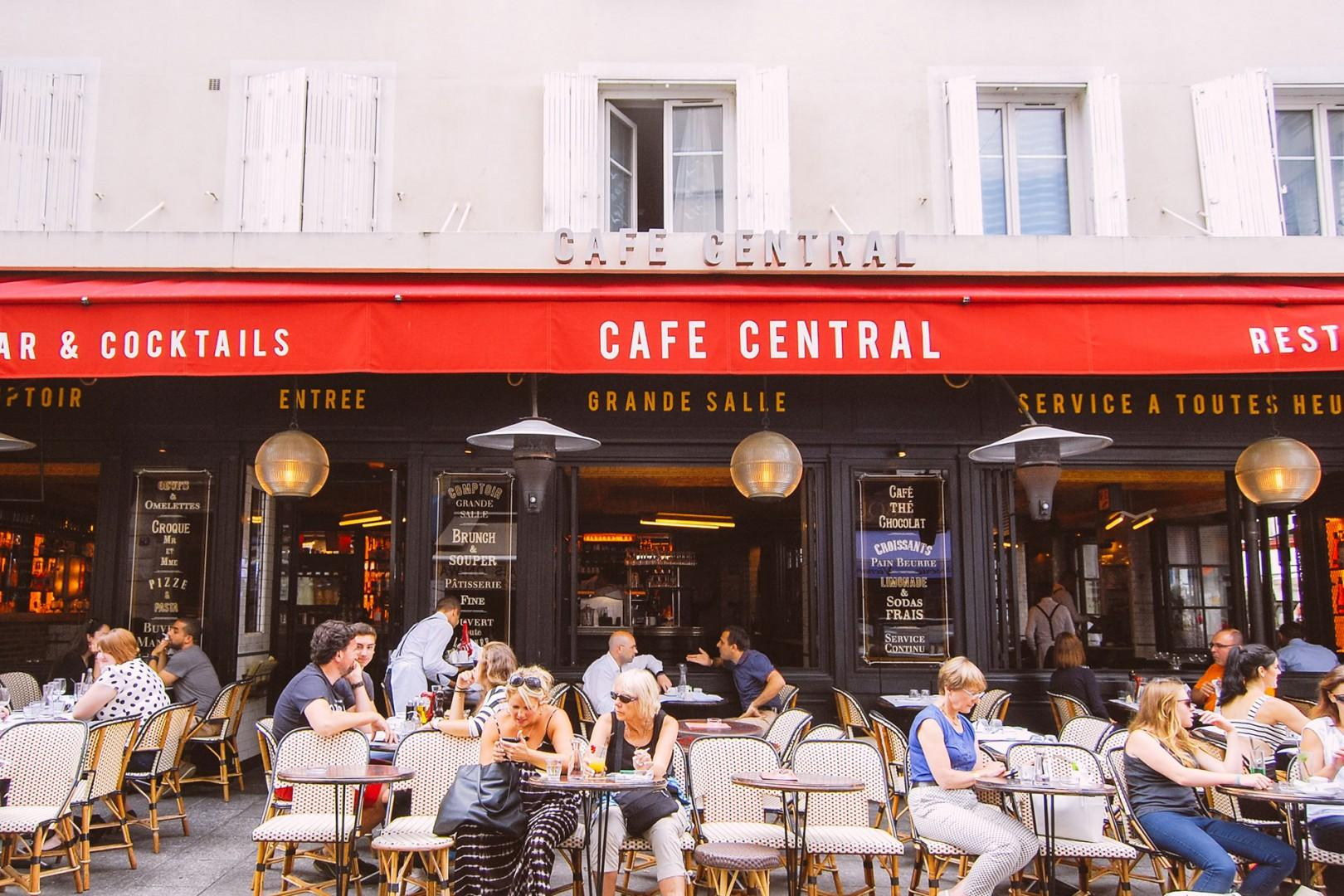 Soak in the atmosphere in a local cafe.