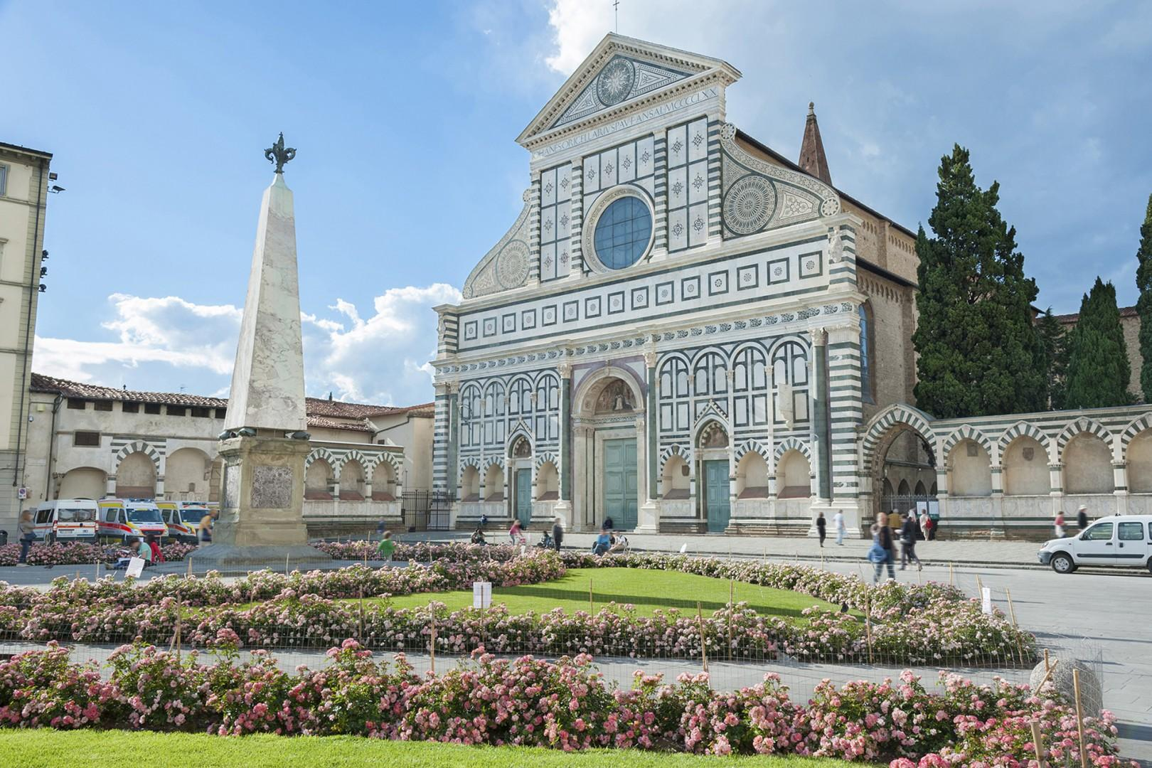 Santa Maria Novella and its piazza are very appealing. The church is a great visit.