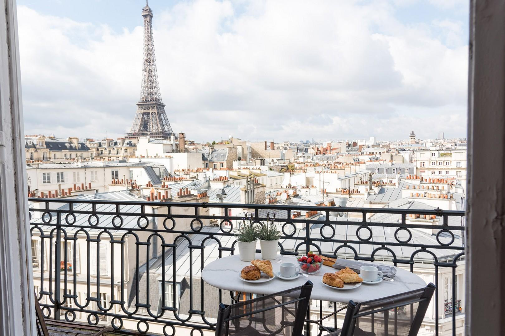 Step out onto your balcony and enjoy the breathtaking view!