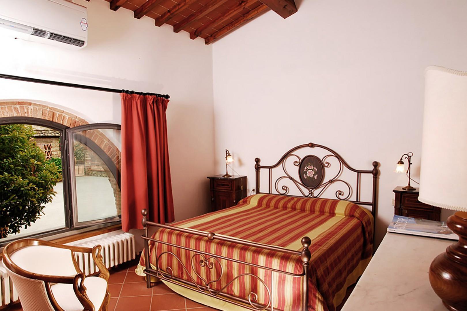 Bedroom 1 in Limonaia Villa.