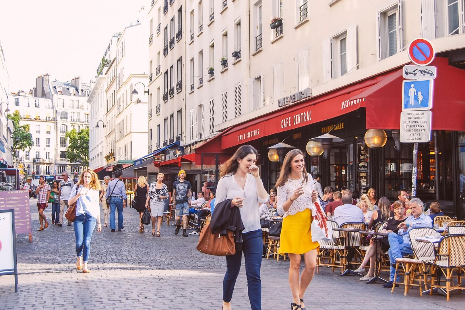 Walk along the wonderful rue Cler