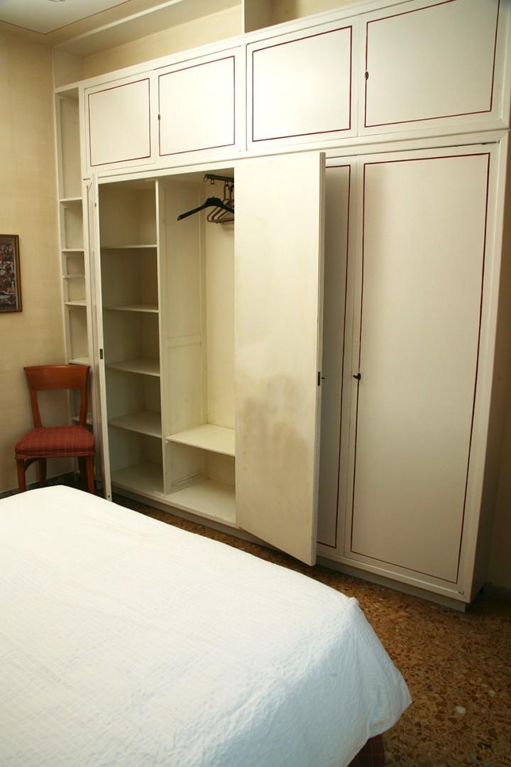 This apartment is very livable. Good closet space.