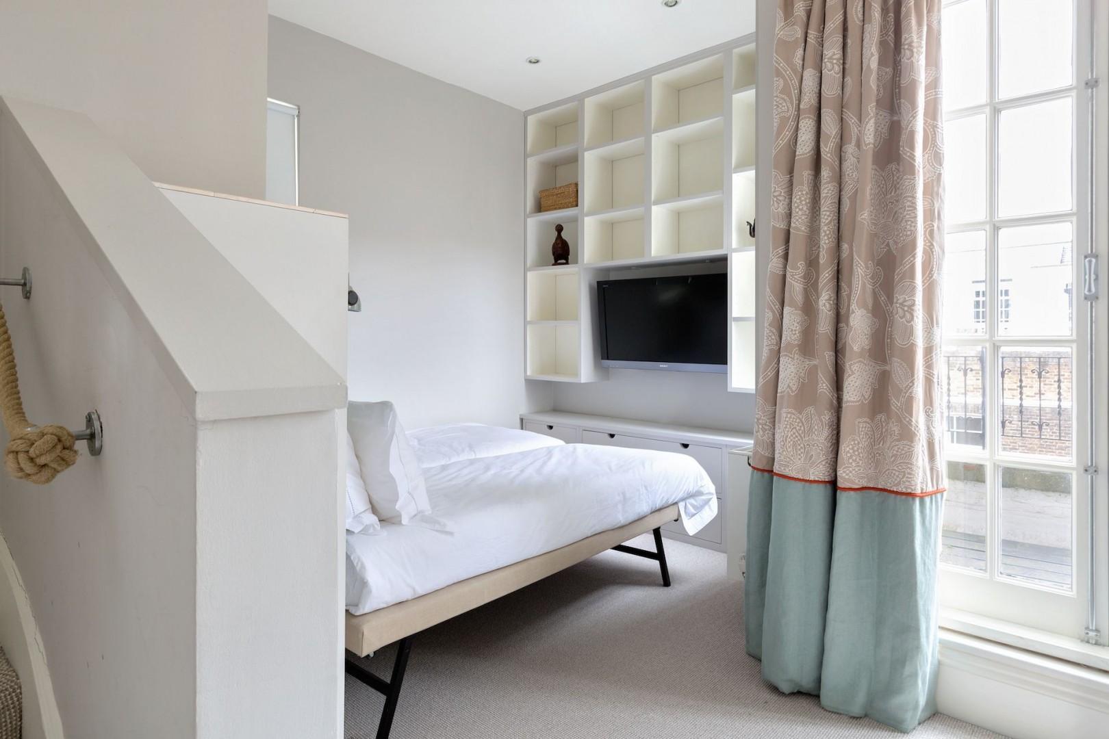 Third bedroom in a quiet corner of the apartment