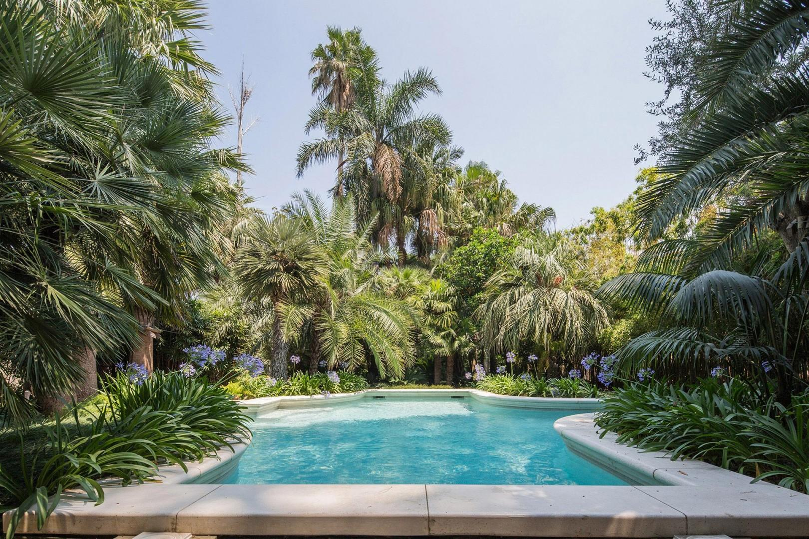 Lovely swimming pool is shared with the owner of the villa who uses it only occasionally.