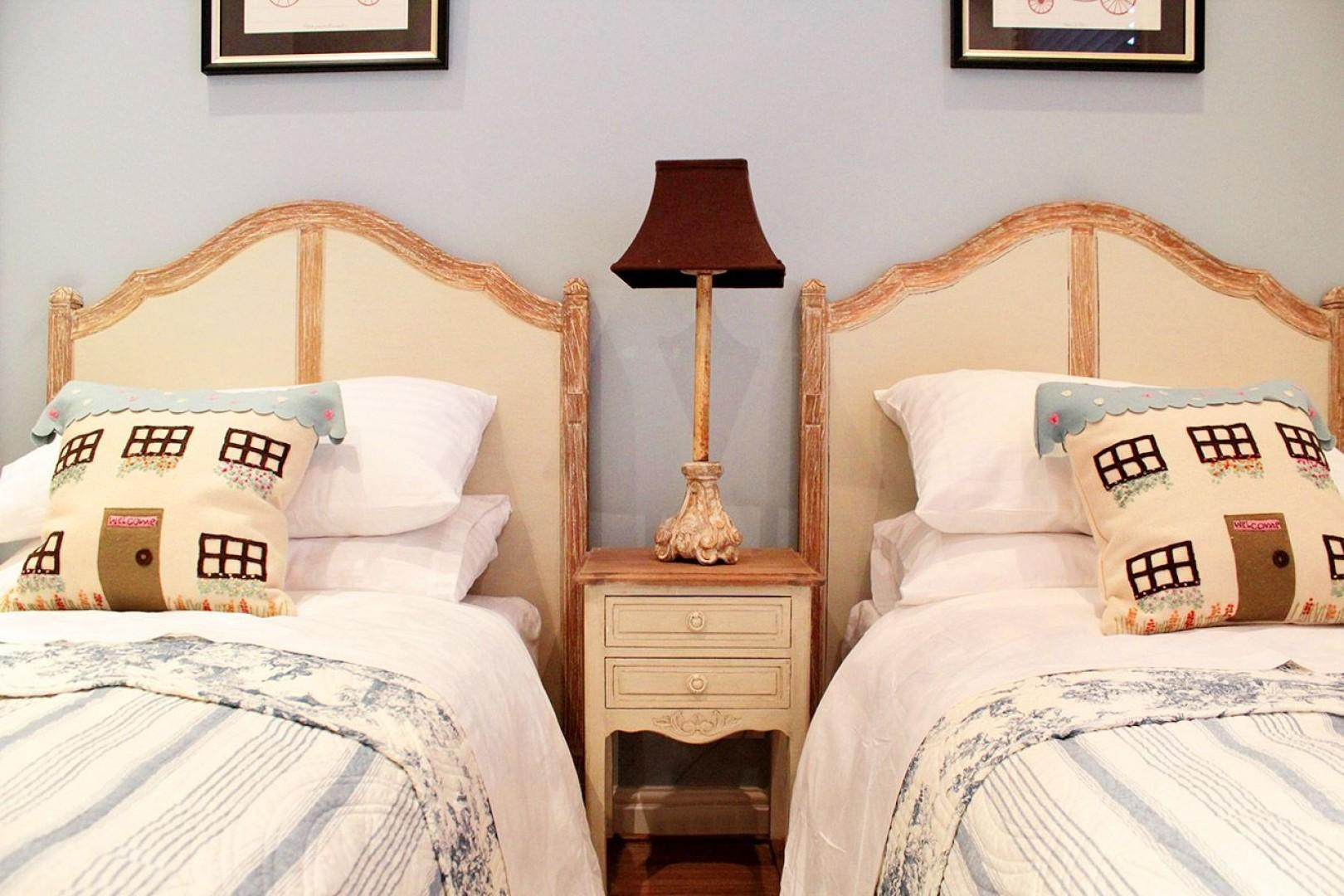 Two comfortable beds in the third bedroom