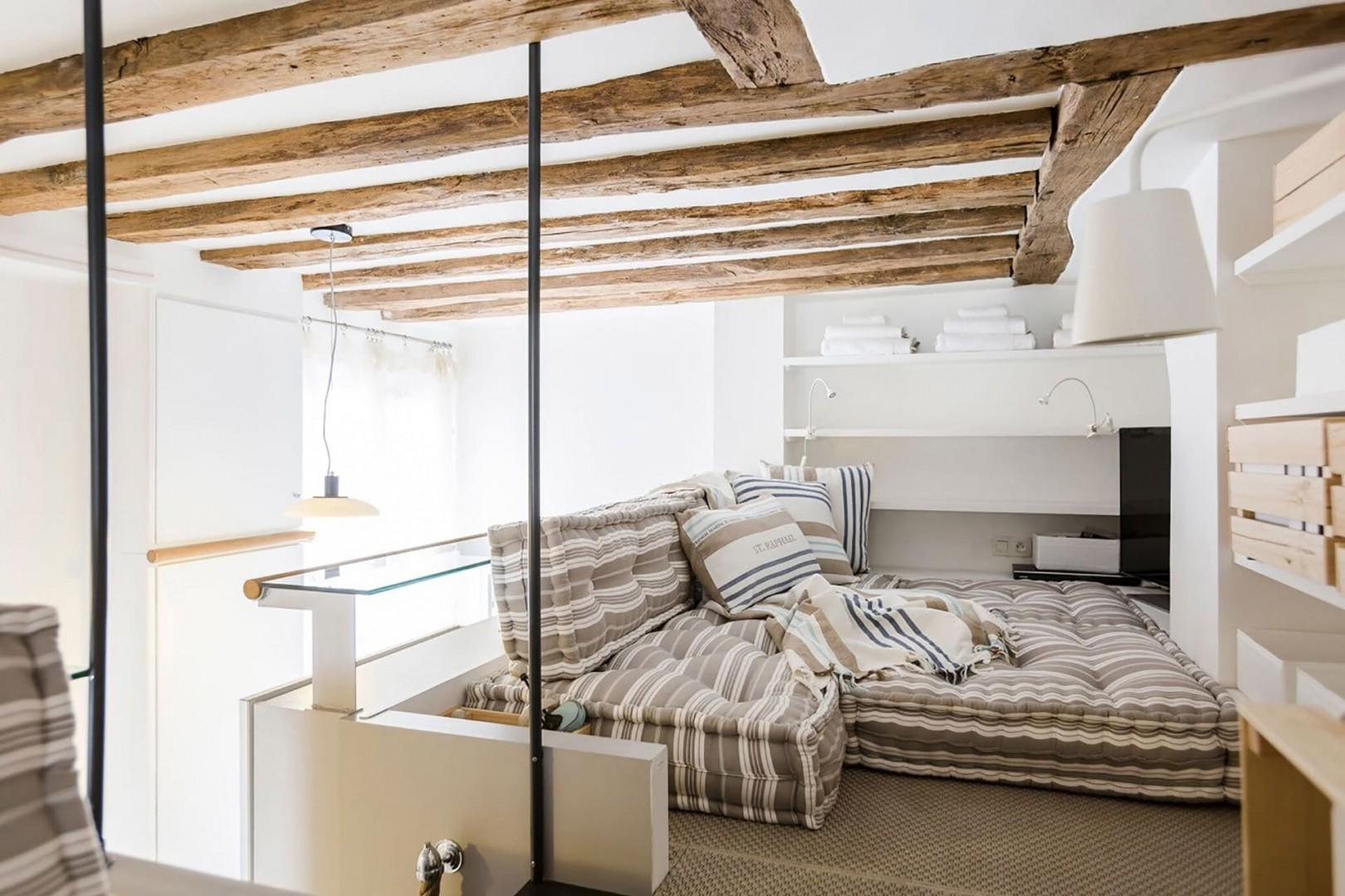 Enjoy a moment of true relaxation in the cozy and intimate loft.