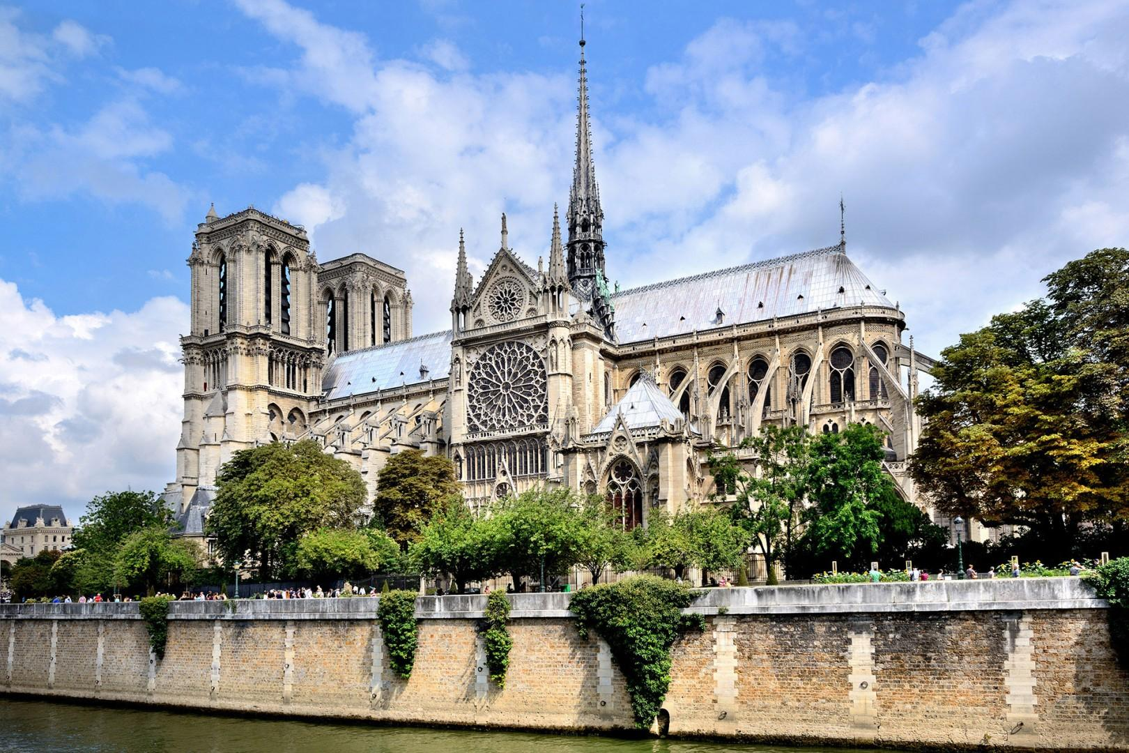 Take a walk to the stunning Notre-Dame Cathedral.
